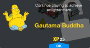 Gautama Buddha Unlock Screen