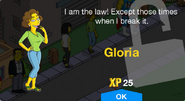 Gloria Unlock Screen
