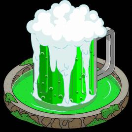 Green Beer Fountain