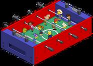 Human Foosball Table Menu