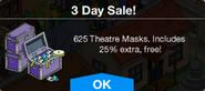 3days Theater Masks Sale