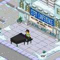 Brendan Beiderbecke Playing Difficult Jazz on Piano
