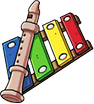 Play Instruments Icon