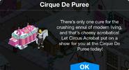 Cirque De Puree notification