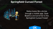 Springfield Cursed Forest notification