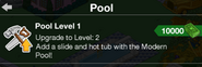 Pool Upgrade to level 2