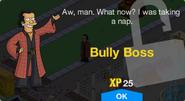 Bully Boss Unlock Screen