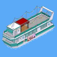 Sunset Cruise Boat in the game