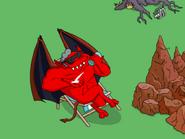 The Devil Enjoying a Breath of Fresh Air - sun cream