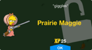 Prairie Maggie Unlock Screen