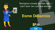 Esme Delacroix Unlock Screen
