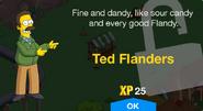 Ted Flanders Unlock Screen