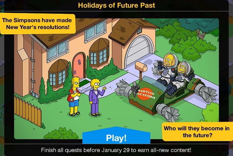 Holidays of Future Past 2020 Event