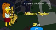 Allison Taylor Unlocked