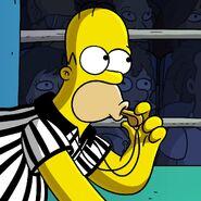 Simpsons Wrestling 2020 Event app icon