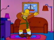 Sunday Morning Homer in the show