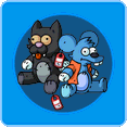 Itchy & Scratchy Store Icon