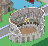 Colosseum giving Plunder