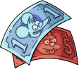 Itchy & Scratchy Money Icon