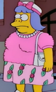 Wiggum on a stake out in the show