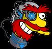 Cyborg Willie Happy Icon