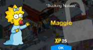 Maggie Unlock Screen