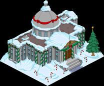 Christmas Burns Manor