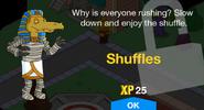 Shuffles Unlock Screen