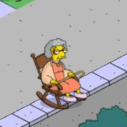 Grandma Van Houten Yelling at the Whippersnappers (1)