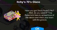 Itchy's 70's Disco notification