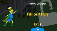 Fallout Boy Unlock Screen