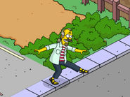 Nedward Flanders Sr. Doing an Interpretive Jive