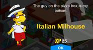 Italian Milhouse Unlock Screen
