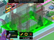 Placing the Zoominator Bundle into the Amusement Bonus Area.