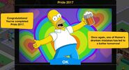 Pride 2017 Event Complete Message
