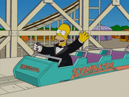 Homer at the Zoominator in the show