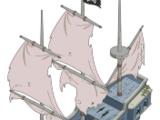 Ghost Pirate Airship