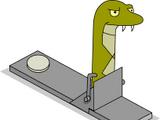 Green Practice Snake