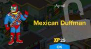 Mexican Duffman Unlock Screen