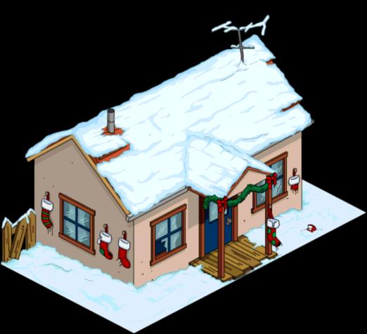 Christmas Crazy Cat House