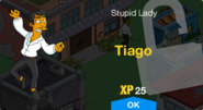Tiago Unlock Screen