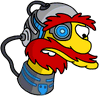 Cyborg Willie Sad Icon