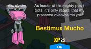 Bestimus Mucho Unlock Screen