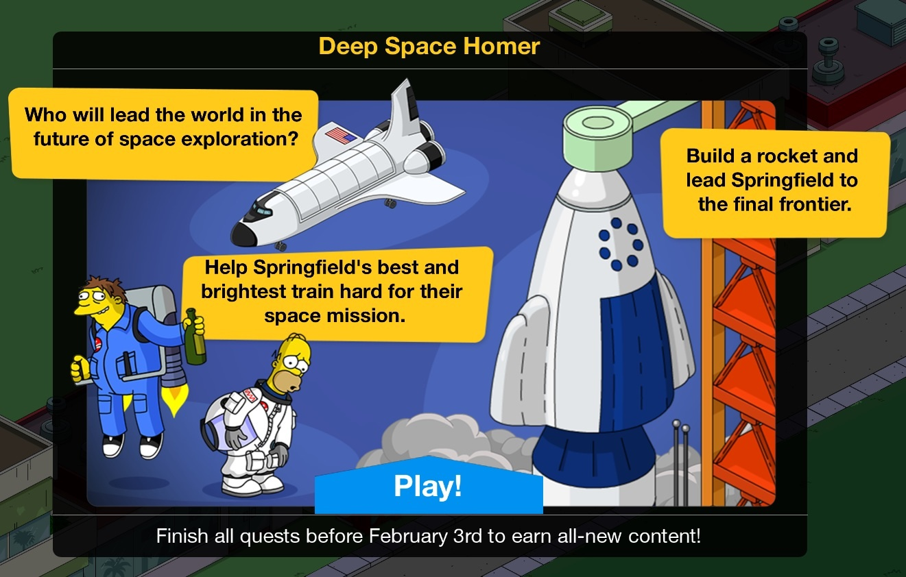 Deep Space Homer 2016 Event