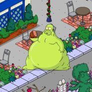 Gelatinous Homer Inhaling Food (2)