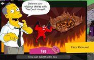 The Devil + Hellscape Gil Screen