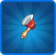 Daily Challenge Inflatable Axes