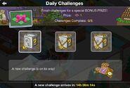 Daily Challenges Free Land Token Bonus Prize