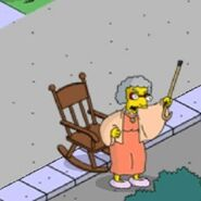 Grandma Van Houten Yelling at the Whippersnappers (3)