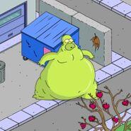 Gelatinous Homer Going On Hunger Rampage (1)